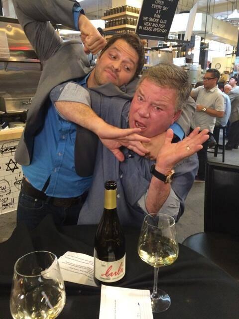 """""""Eu geralmente não brigo com estranhos, mas esse cara estava pedindo por isso.... @williamshatner"""" """"pic.twitter.com/IGn0ajQskk"""