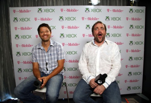 Misha+Collins+Mark+Sheppard+Xbox+One+Comic+xsVpu1Pv9Ldl