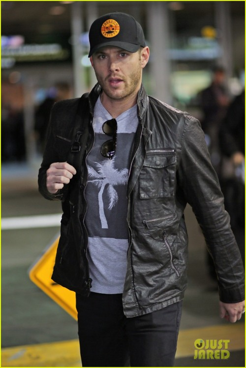 *EXCLUSIVE* Jensen Ackles arrives back in Vancouver to get back to work