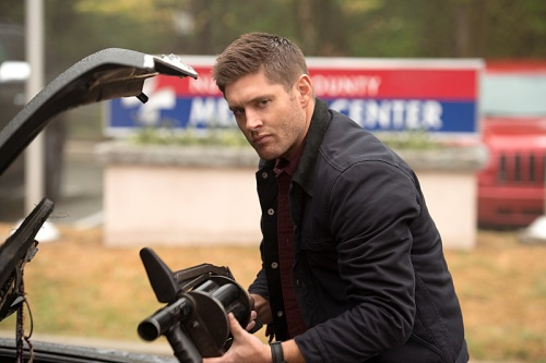 "Supernatural -- ""Out of the Darkness, Into the Fire"" -- Image SN1102B_0063.jpg -- Pictured: Jensen Ackles as Dean -- Photo: Diyah Pera/The CW -- © 2015 The CW Network, LLC. All Rights Reserved."