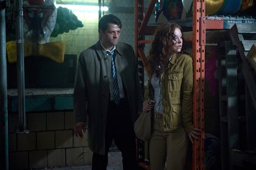 "Supernatural -- ""The Bad Seed"" -- Image SN1101B_0239.jpg -- Pictured: Misha Collins as Castiel -- Photo: Diyah Pera /The CW -- © 2015 The CW Network, LLC. All Rights Reserved."