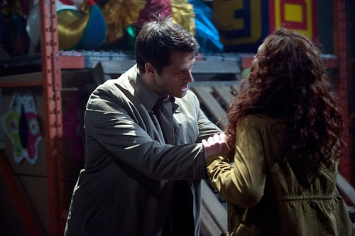 "Supernatural -- ""The Bad Seed"" -- Image SN1101B_0246.jpg -- Pictured: Misha Collins as Castiel -- Photo: Diyah Pera /The CW -- © 2015 The CW Network, LLC. All Rights Reserved."