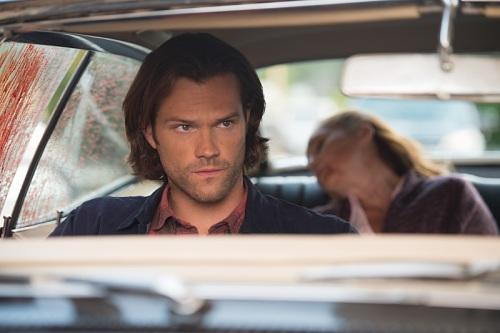 "Supernatural -- ""Baby"" -- Image SN1104A_0319.jpg -- Pictured: Jared Padalecki as Sam -- Photo: Diyah Pera /The CW -- © 2015 The CW Network, LLC. All Rights Reserved"
