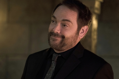 "Supernatural -- ""The Devil in The Details"" -- Image SN1110A_0083 -- Pictured: Mark Sheppard as Crowley -- Photo: Katie Yu/The CW -- © 2016 The CW Network, LLC. All Rights Reserved."